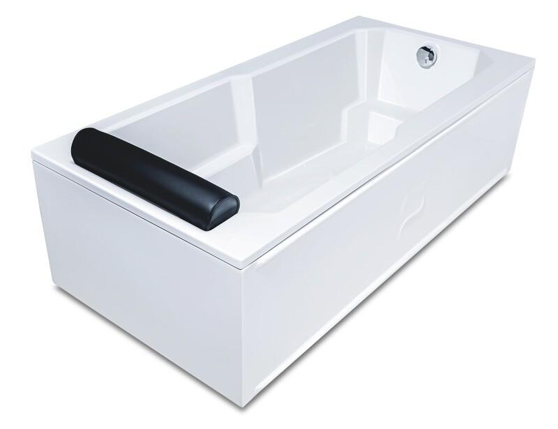 Baignoire Regency 170 x 80 cm avec repose-tête intégré