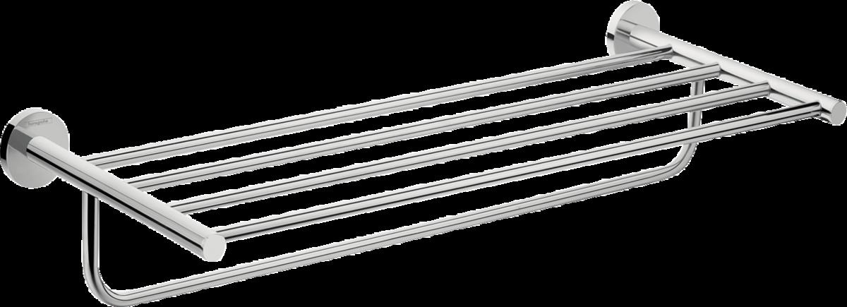Plateau porte-serviette Hansgrohe Logis Universal 60 cm