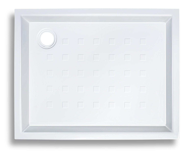 Receveur Novospace décentré 90 x 70 cm sans vidage