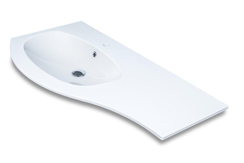Plan-vasque Estrema 108 cm