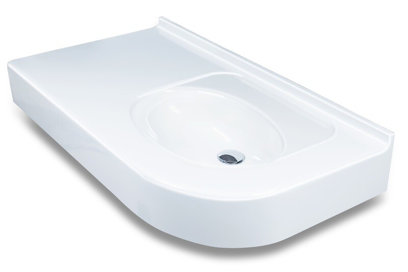 Plan-vasque Capri 100 cm