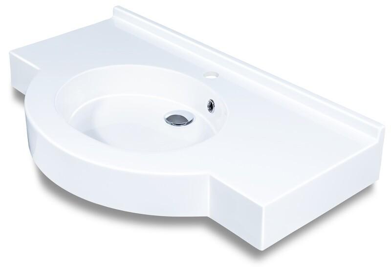Plan-vasque Maya 80 cm