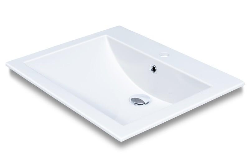 Plan-vasque Quadro 60 cm