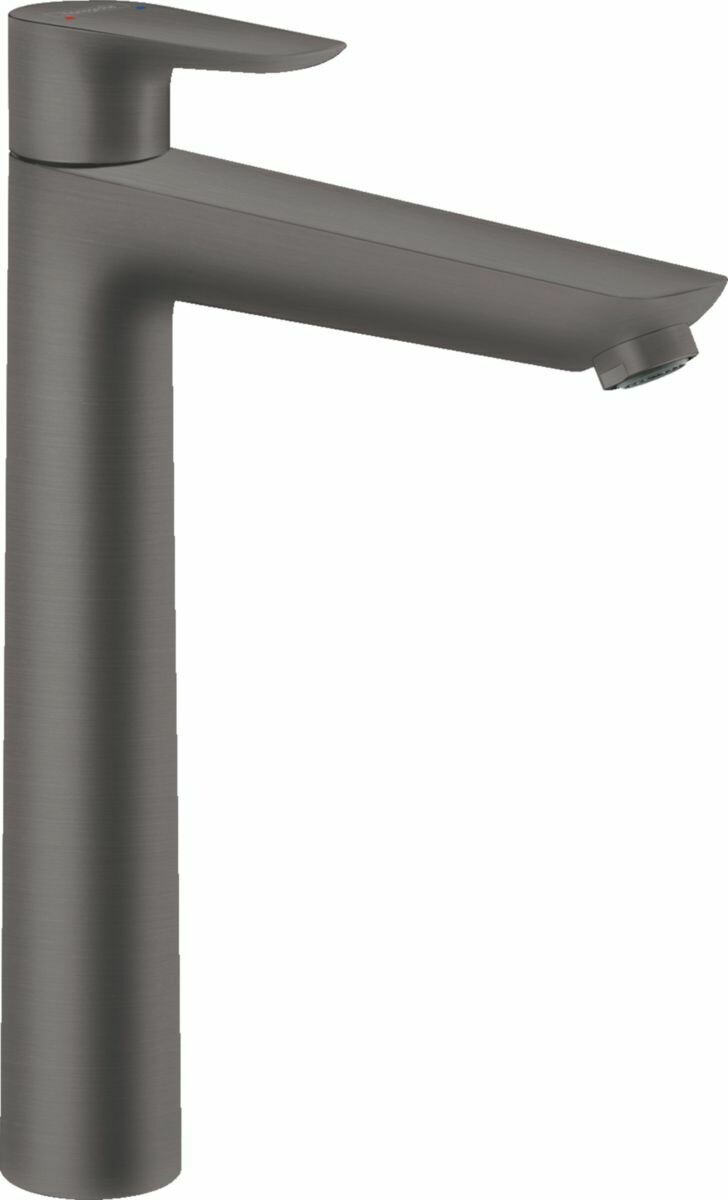 Mitigeur de lavabo Hansgrohe Talis E 240 avec tirette et vidage en noir chromé brossé