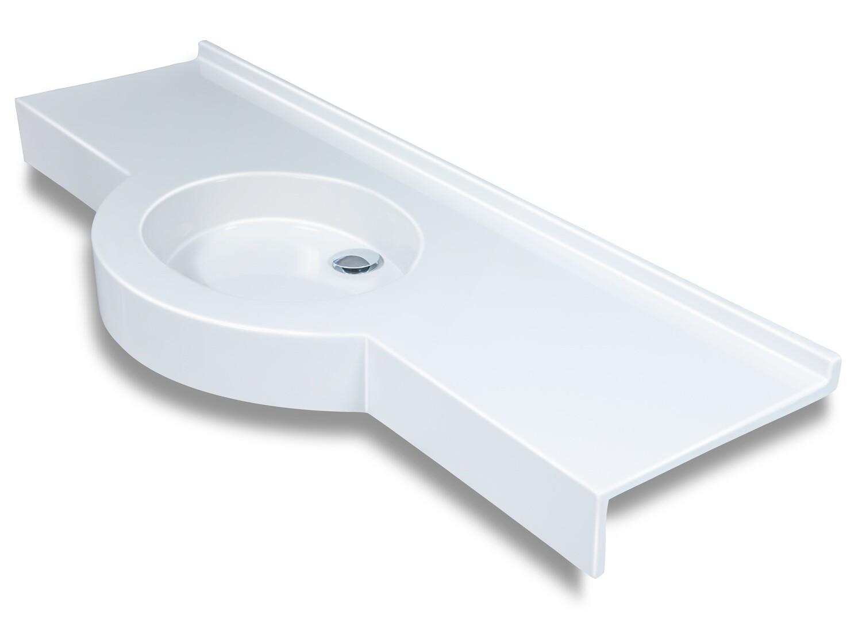 Plan-vasque Dune (100 à 200 cm) x 45 cm