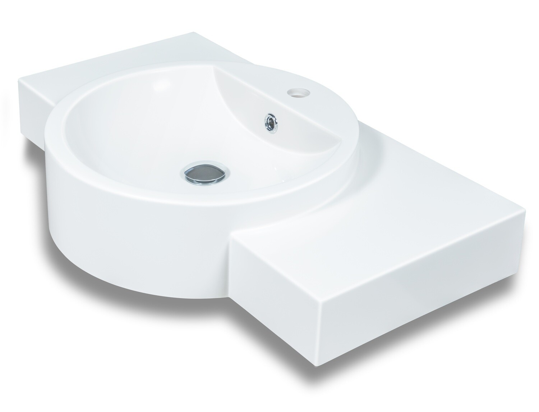 Plan-vasque Twingo 80 cm