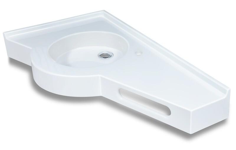 Plan-vasque Helios 100 cm