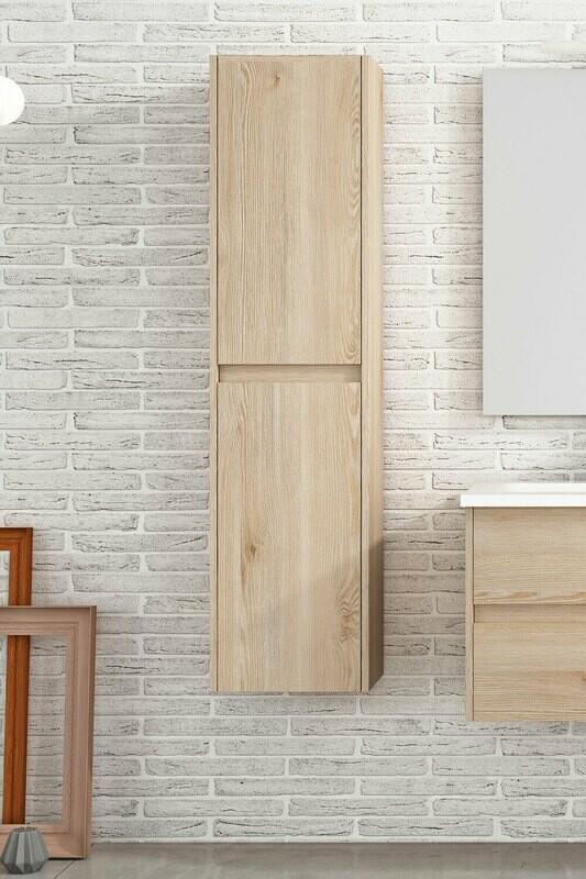 Colonne suspendue 140 x 35 cm avec deux portes