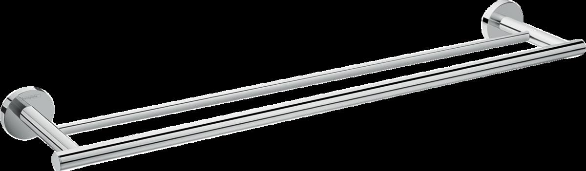 Porte-serviettes double Hansgrohe Logis Universal 64,4 cm