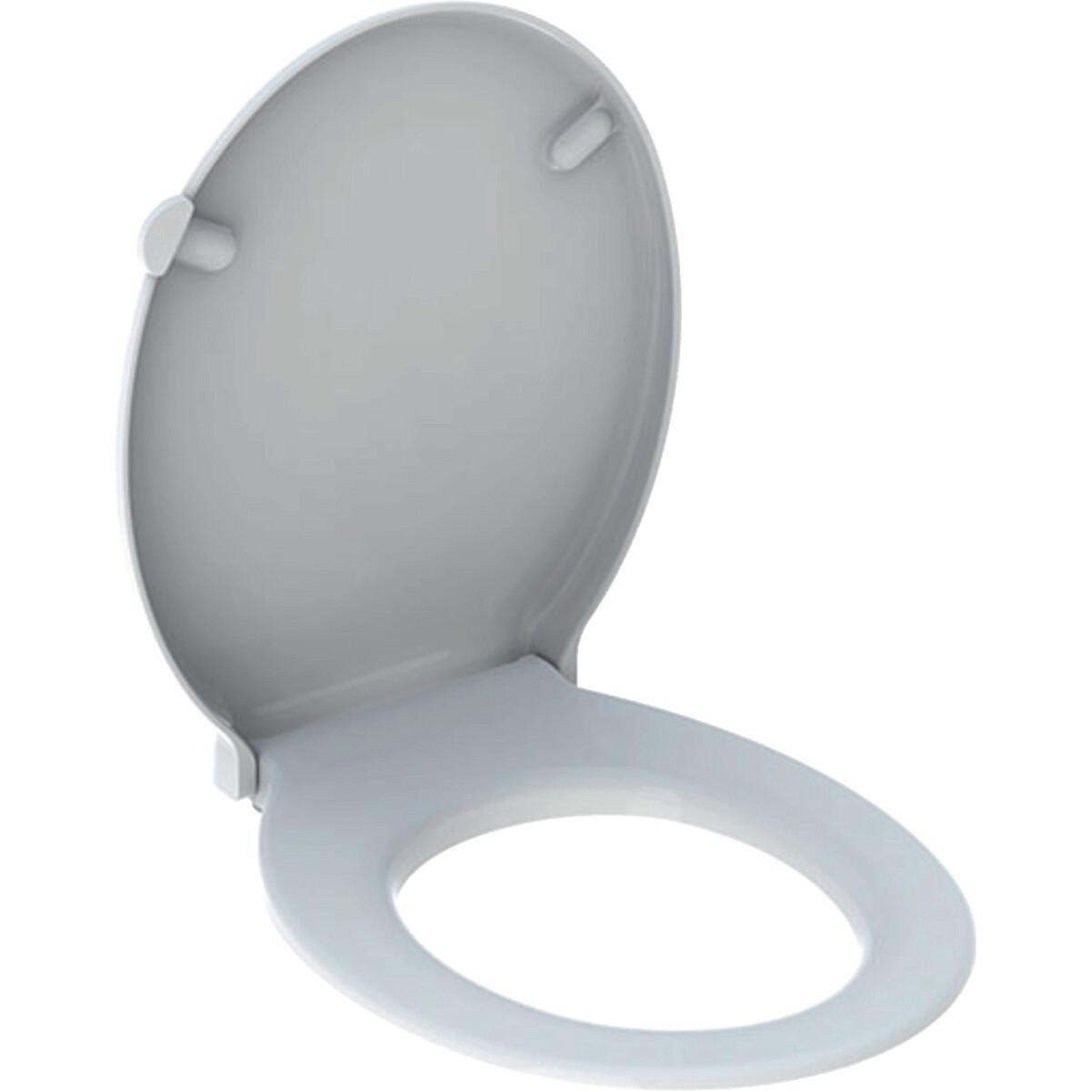 Abattant WC Geberit Selnova Comfort adapté PMR, fixation par le dessus
