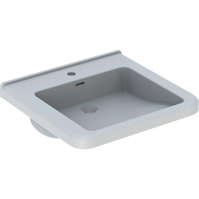 Lavabo Geberit Selnova Comfort Square, adapté PMR