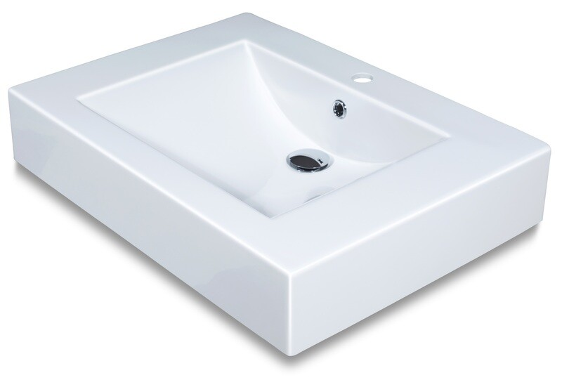 Plan-vasque Spazio 70 cm