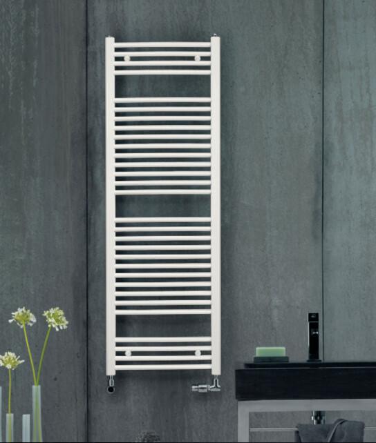 Radiateur sèche-serviettes Zehnder (Acova) Virando Bow 120 x 50 cm - Blanc