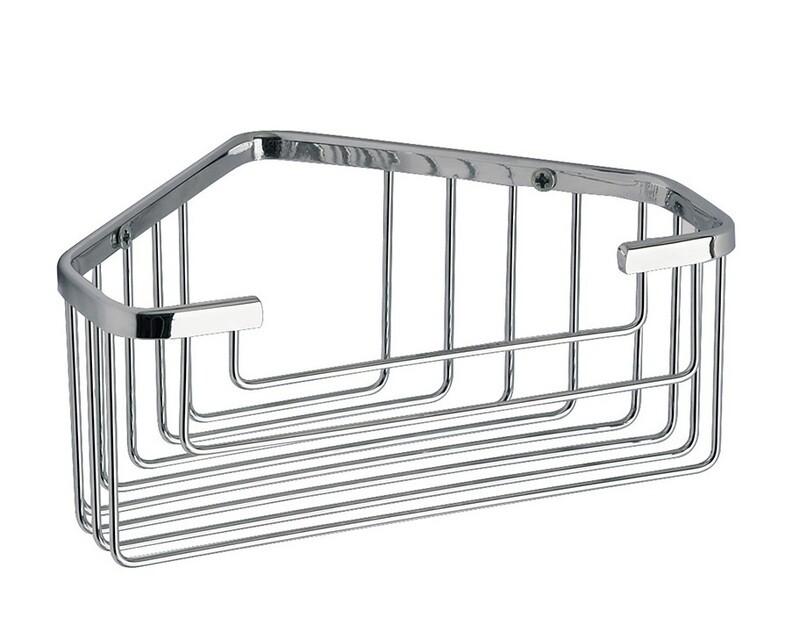 Porte-objets d'angle pour douche Wire