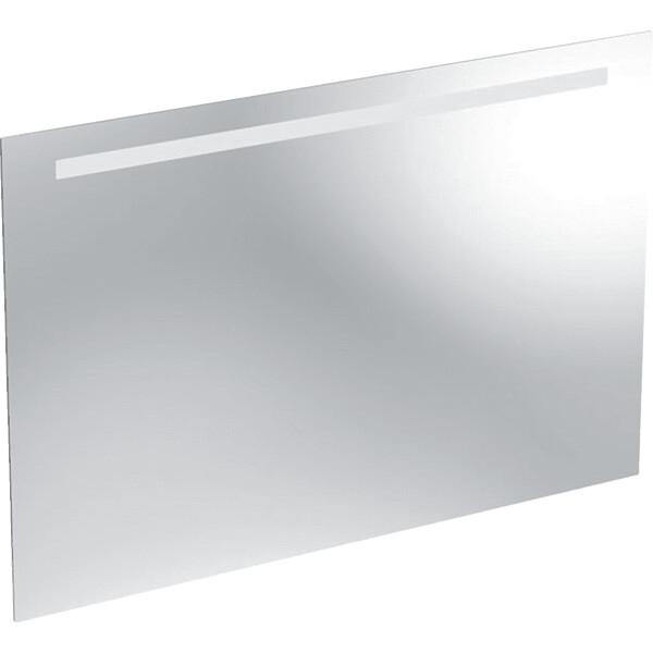 Miroir lumineux Geberit Option Basic 120 cm, éclairage en haut