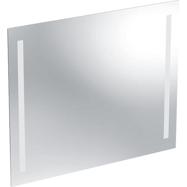 Miroir éclairé Geberit Option 80 cm, éclairage des deux côtés