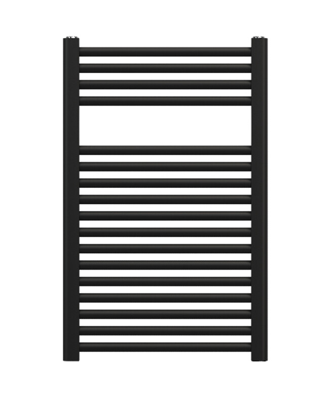 Radiateur sèche-serviettes Zehnder (Acova) Virando 80 x 50 cm - Noir