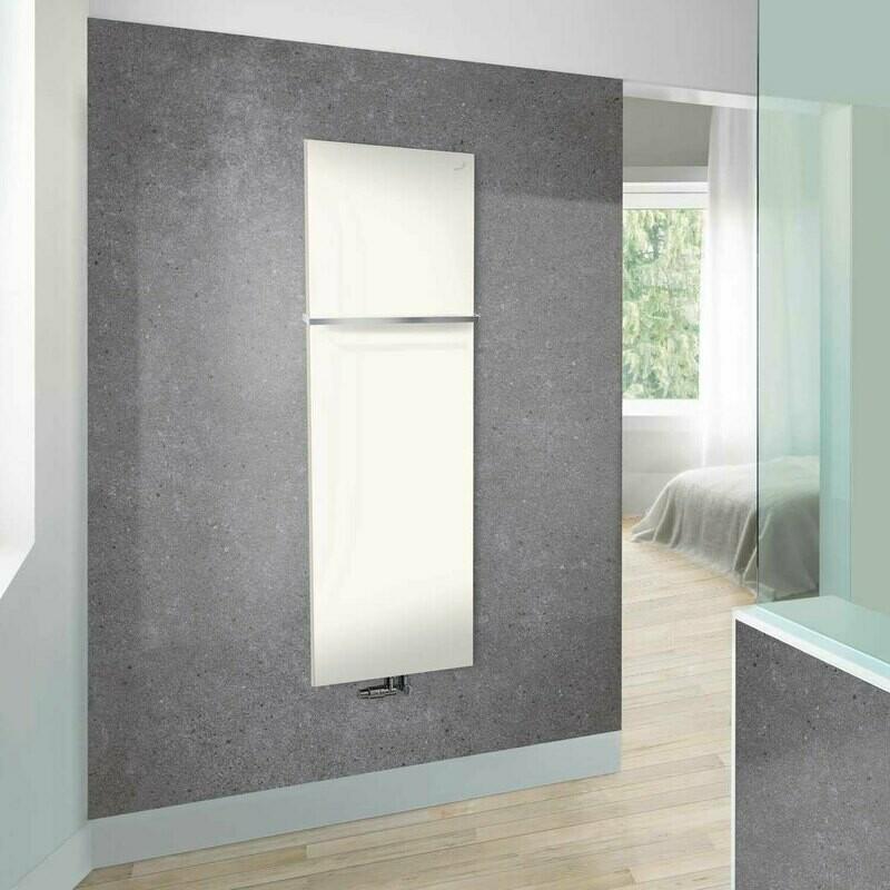 Radiateur sèche-serviettes Zehnder (Acova) Fina Lean Bar 150 x 60 cm - Blanc
