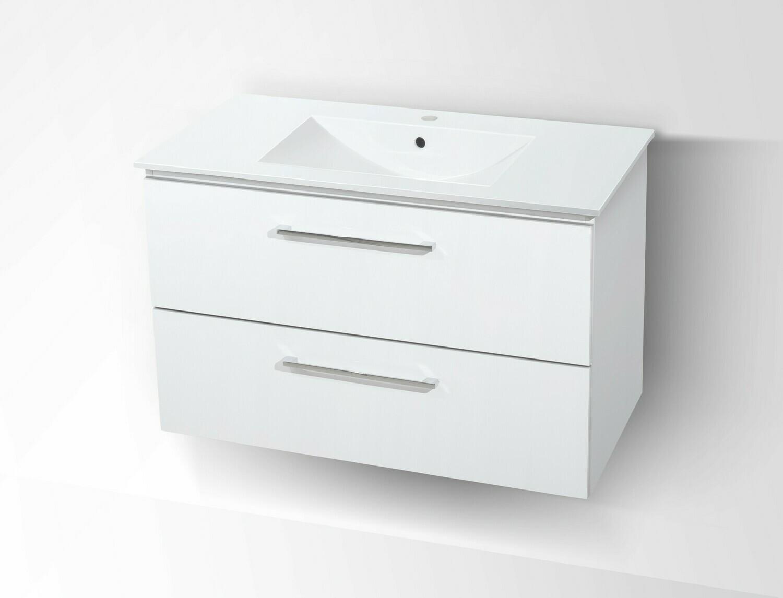 Plan-vasque Comete 72 cm avec meuble