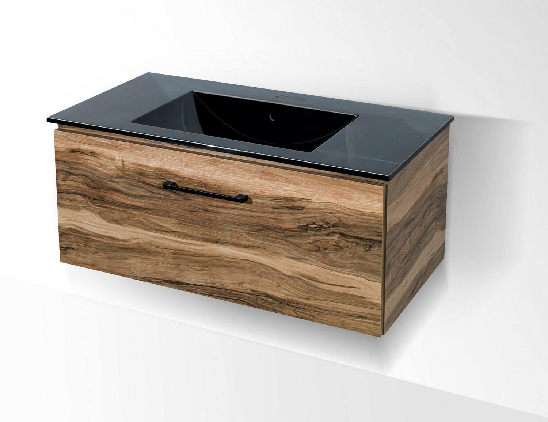 Plan-vasque Comete 96 cm avec meuble