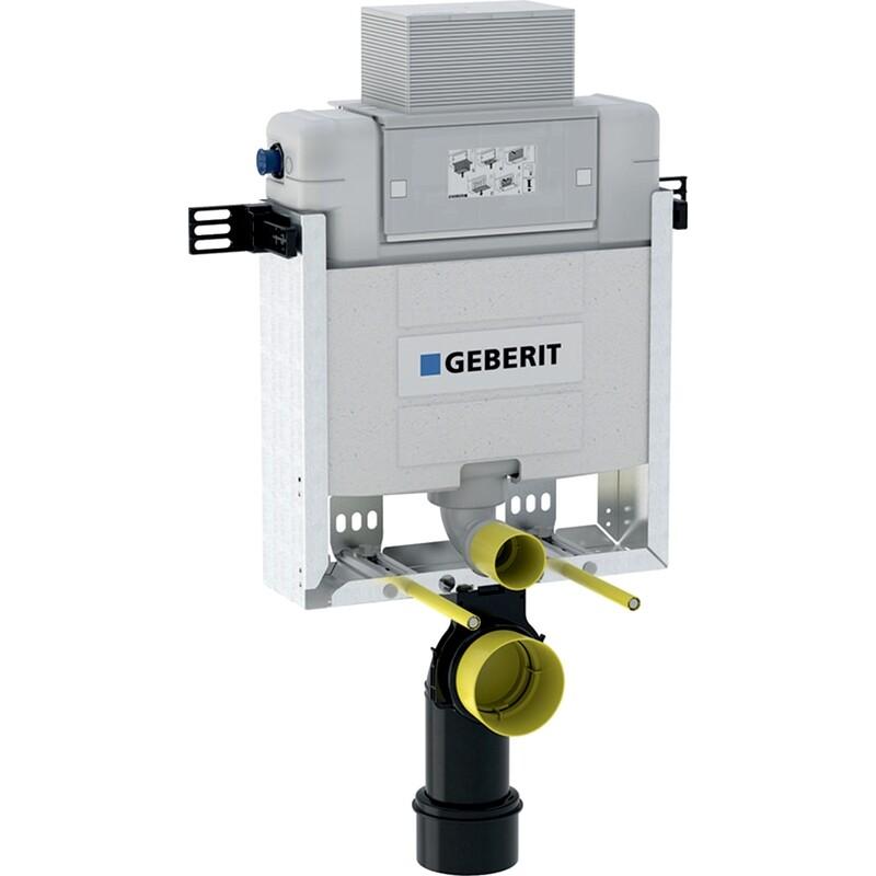 Bâti-support Geberit Combifix Alpha 12 cm (hauteur 82 cm),  pour montage dans parois maçonnées