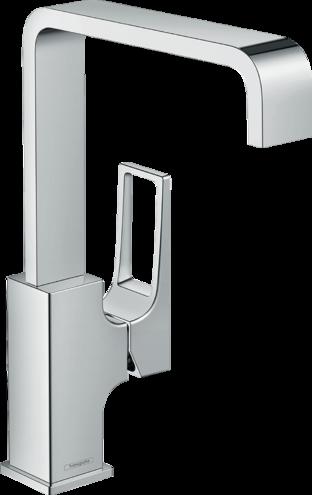 Mitigeur de lavabo Hansgrohe Metropol 230 avec poignée étrier et bonde push-open