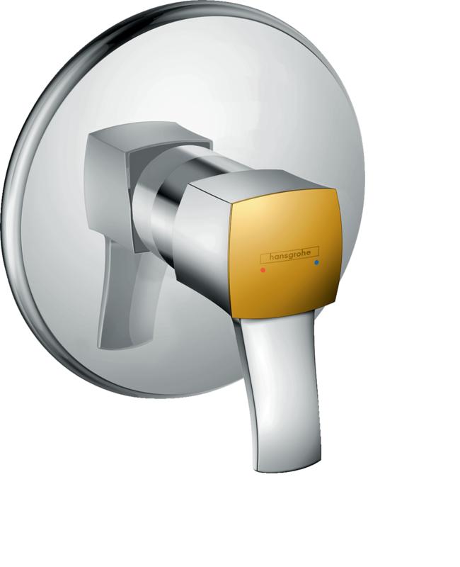 Set de finition pour mitigeur de douche encastré Hansgrohe Metropol Classic