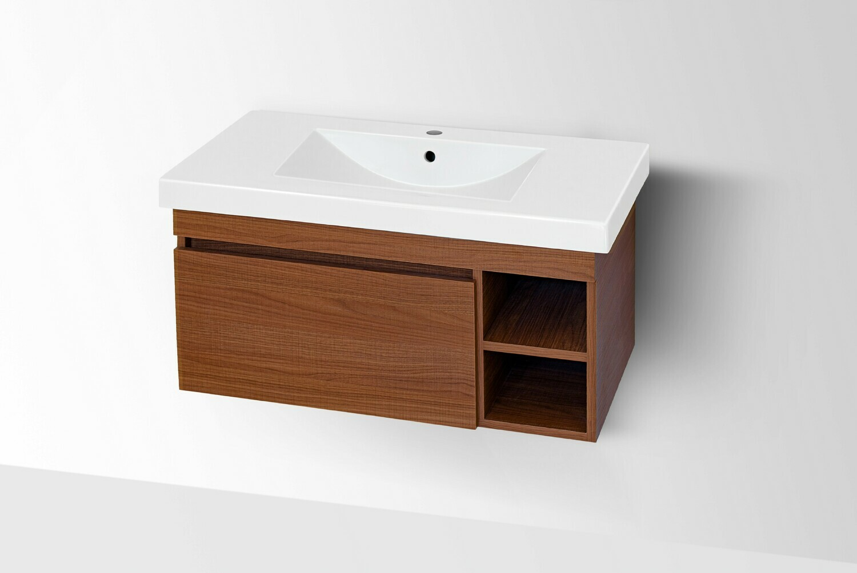Plan-vasque Spazio 90 cm avec meuble