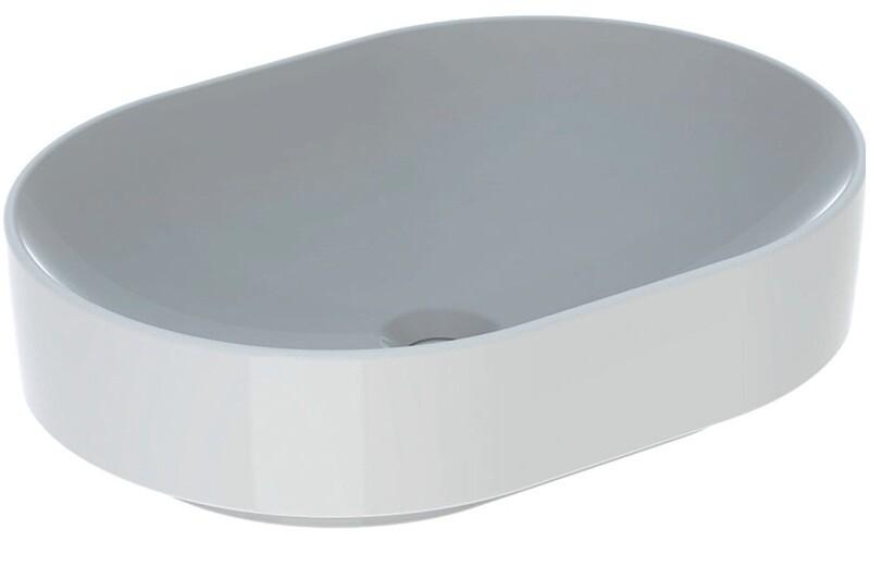 Vasque bol Geberit Variform elliptique 55 x 40 cm