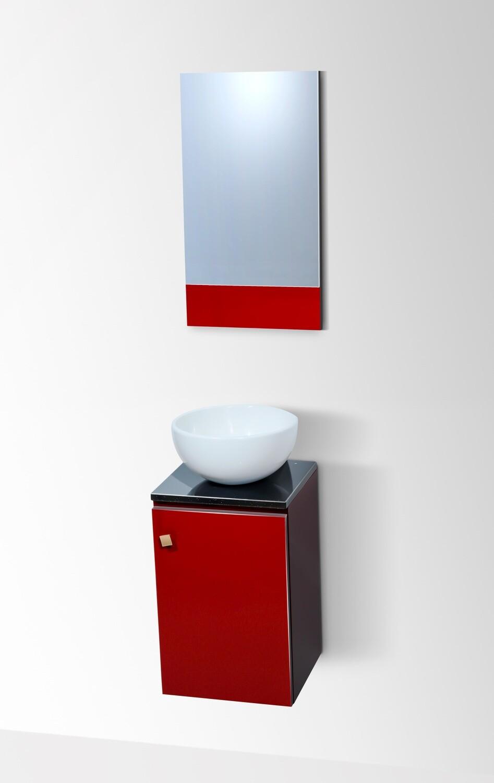 "Bol ""Invités"" 30 cm avec meuble et miroir"