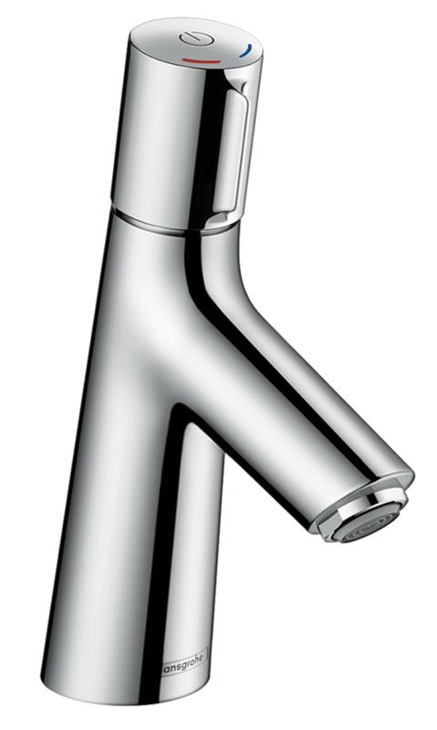 Mitigeur de lavabo Hansgrohe Talis Select S 80 en laiton chromé avec tirette et vidage