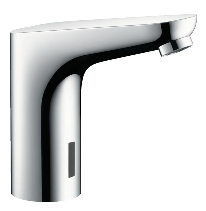 Mitigeur de lavabo Hansgrohe Focus 130 électronique sans manette de réglage de température sur secteur