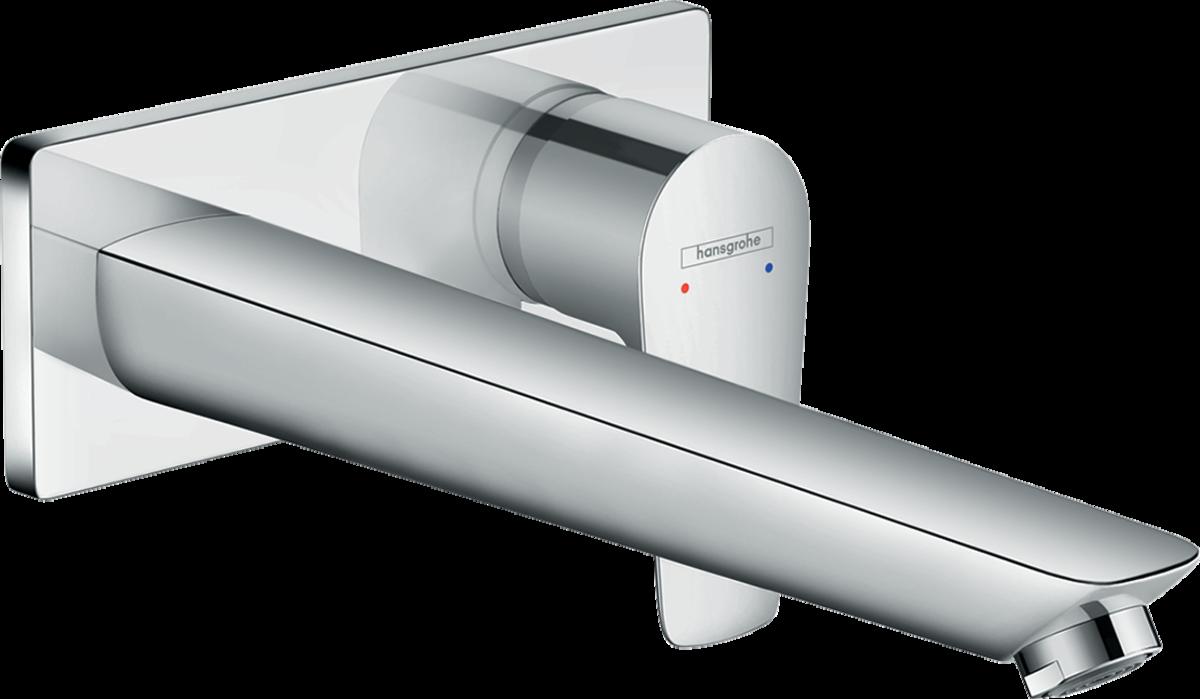 Mitigeur de lavabo encastré Hansgrohe Talis E 225 mm en laiton chromé