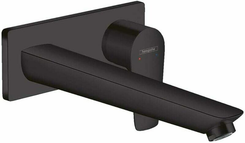 Mitigeur de lavabo encastré Hansgrohe Talis E 225 mm en noir mat