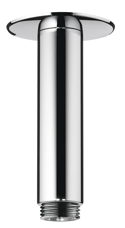 Bras de douche plafonné Hansgrohe 100 mm avec rosace ronde