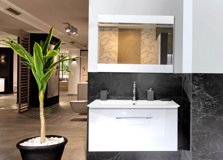 Plan-vasque Lido 92 cm avec meuble et miroir