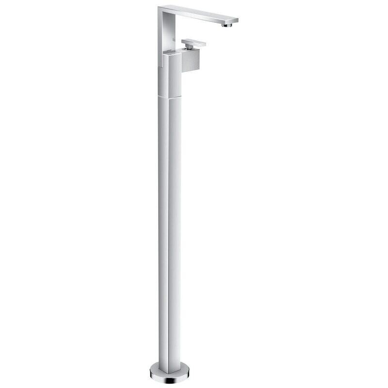 Mitigeur lavabo AXOR Edge sur pied avec vidage push-open coupe diamant
