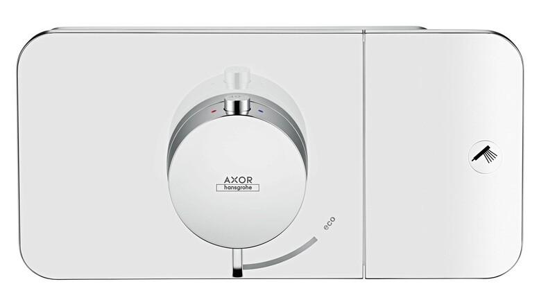 Module thermostatique encastré AXOR One avec 1 fonction