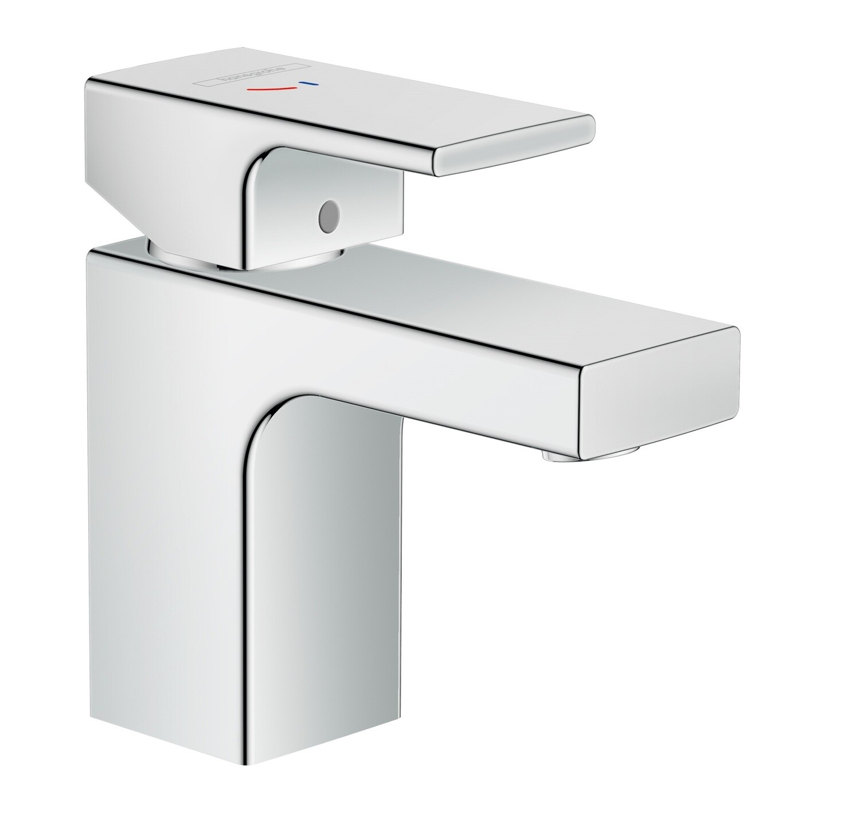 Mitigeur de lavabo Hansgrohe Vernis Shape 70 CoolStart chromé avec tirette et vidage synthétique