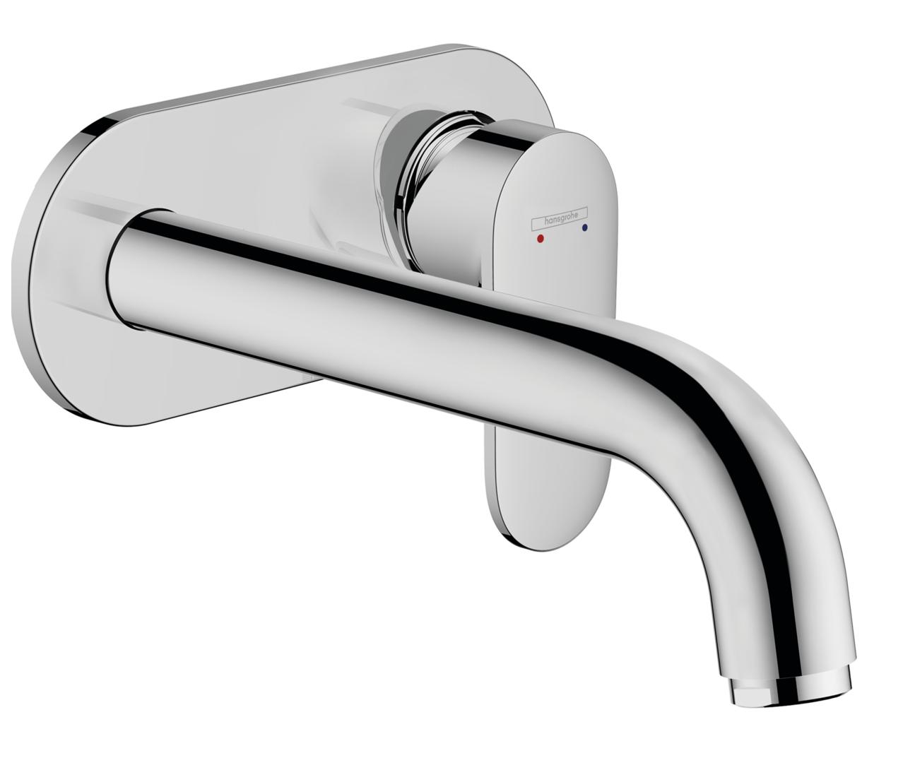 Mitigeur de lavabo encastré Hansgrohe Vernis Blend 207 mm en laiton chromé
