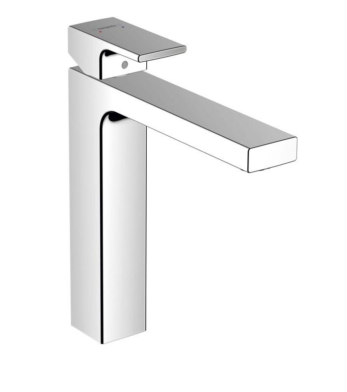 Mitigeur de lavabo Hansgrohe Vernis Shape 190 chromé sans tirette ni vidage