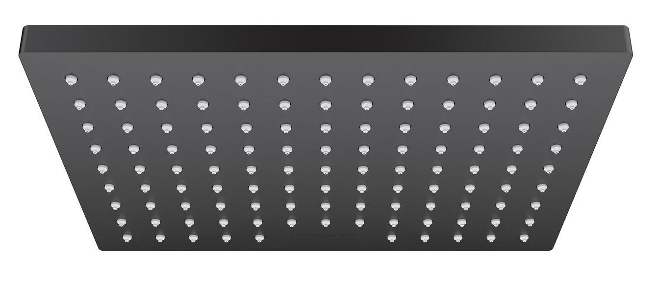 Douche de tête Hansgrohe Vernis Shape  230 1 jet EcoSmart en noir mat