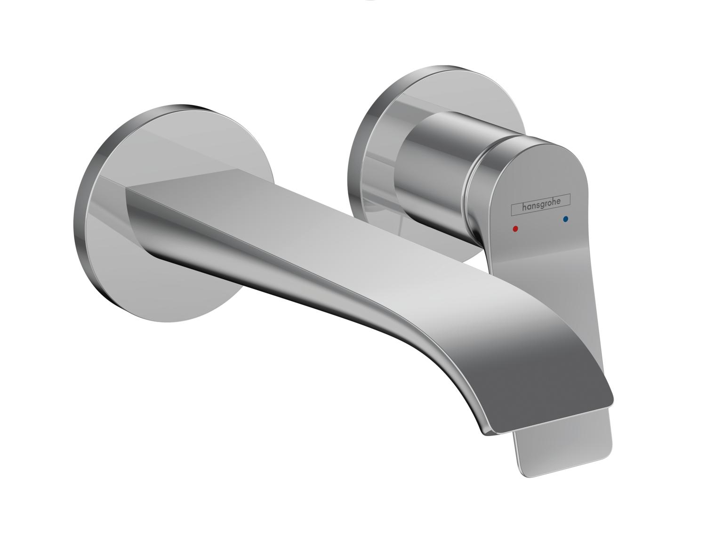 Mitigeur de lavabo encastré Hansgrohe Vivenis 195 mm avec bonde à écoulement libre