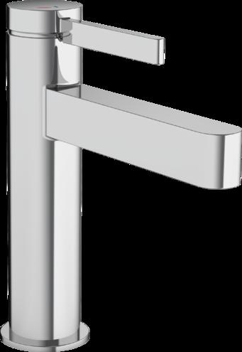 Mitigeur de lavabo Hansgrohe Finoris 110 CoolStart avec bonde push-open