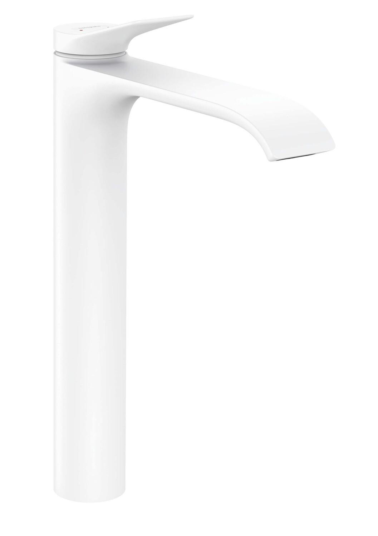 Mitigeur de lavabo Hansgrohe Vivenis 250 avec tirette et vidage en blanc mat