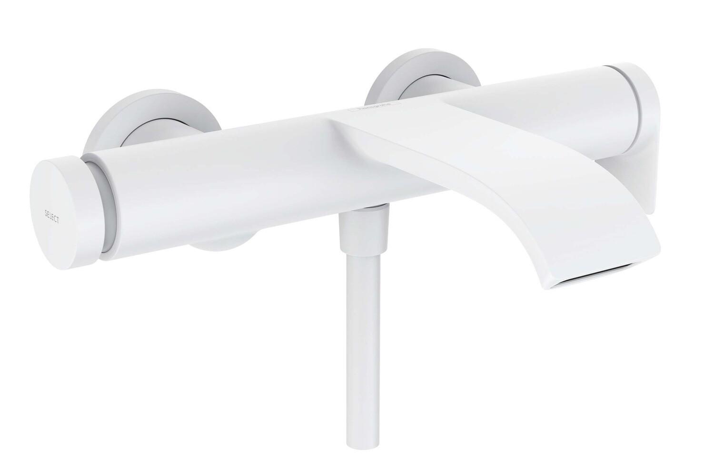Mitigeur de bain / douche Hansgrohe Vivenis en blanc mat