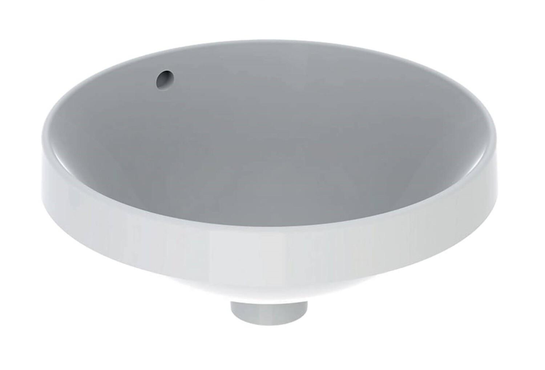 Vasque à encastrer Geberit VariForm ronde 40 cm avec trop plein