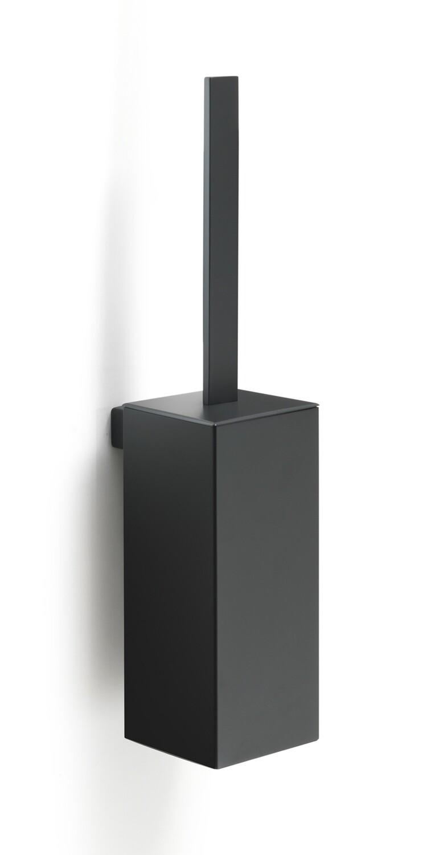 Porte-balai de WC Lounge noir mat