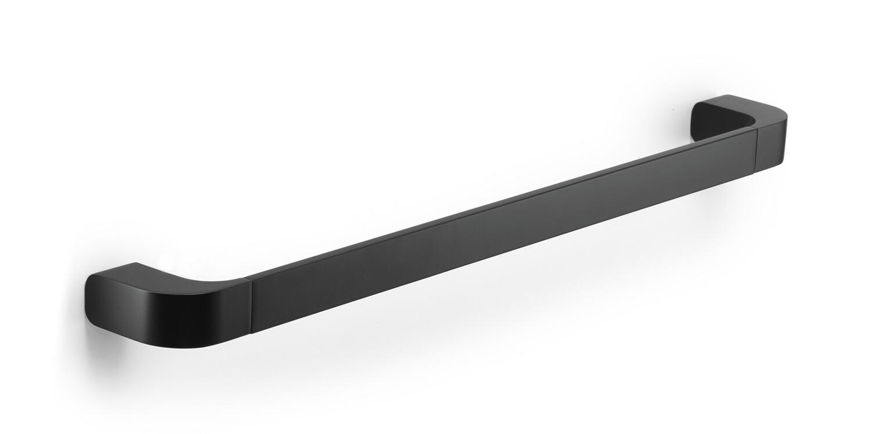 Porte-serviette Outline 55 cm noir mat