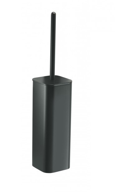 Porte-balai de WC Outline noir mat